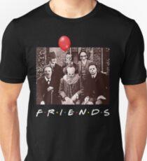 Team Horror Characters Friends Slim Fit T-Shirt
