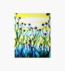 Wildflowers Art Board Print