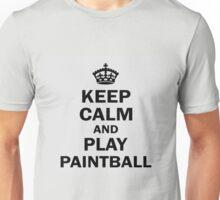 Keep calm and play paintball Unisex T-Shirt