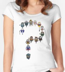 Who's Who are You? Women's Fitted Scoop T-Shirt