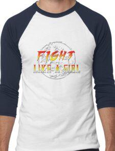 Fight like a girl...Mortal Kombat Men's Baseball ¾ T-Shirt