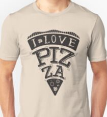 I Love Pizza! Unisex T-Shirt