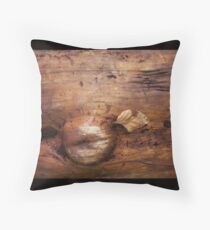 wood life Throw Pillow
