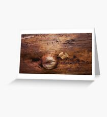 wood life Greeting Card