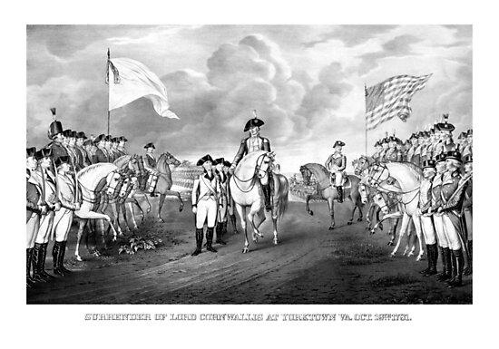 Surrender Of Lord Cornwallis At Yorktown by warishellstore