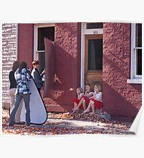Photo Shoot for Little Girls Poster