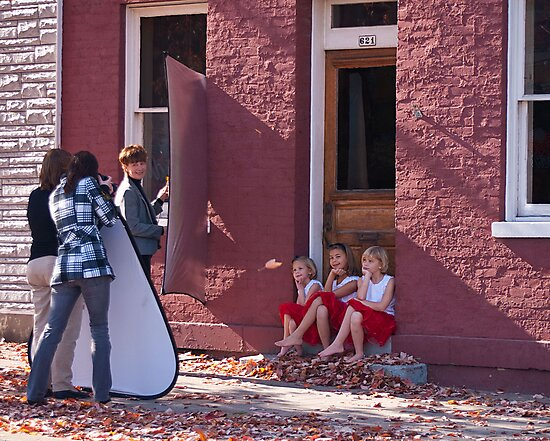 Photo Shoot for Little Girls by Phil Campus