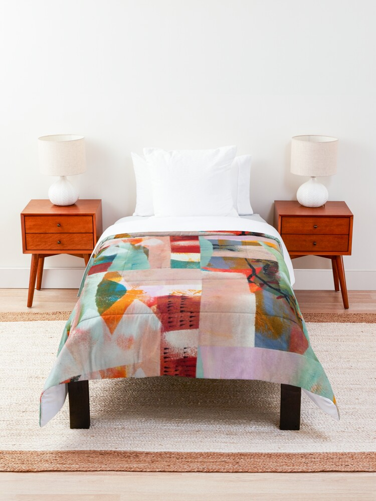 Alternate view of springmoon Comforter