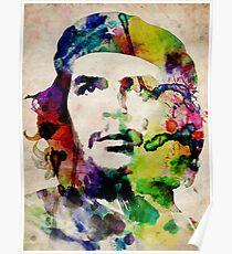 Che Guevara Urban Art Poster