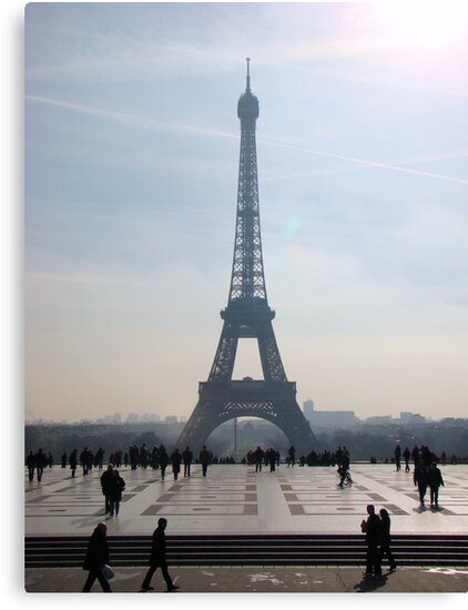 Towering Eiffel  by Al Bourassa