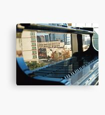 Keyboard Mural Canvas Print