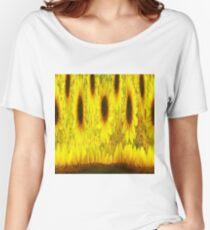SUNFLOWER RIDE Women's Relaxed Fit T-Shirt