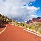 Road through Kolob Canyons by Nickolay Stanev