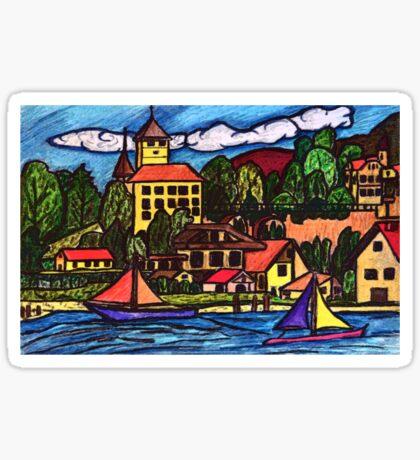 Spiez, Switzerland Sticker