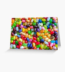 Jelly Bellies Greeting Card