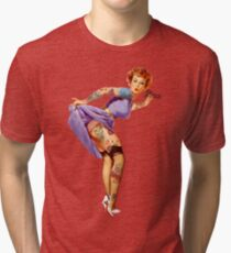 Redhead Pin-up Tri-blend T-Shirt