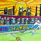 Tennis Champs by Monica Engeler