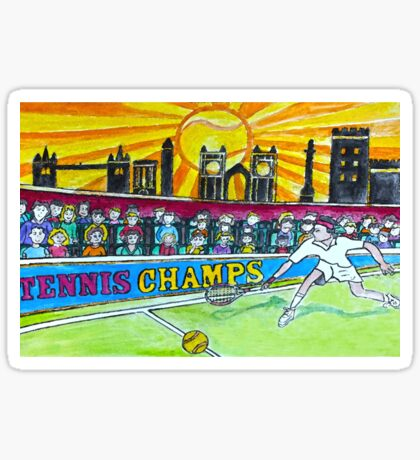 Tennis Champs Sticker