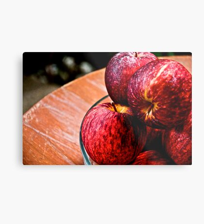 For bite: On 4 Featured Works Metal Print