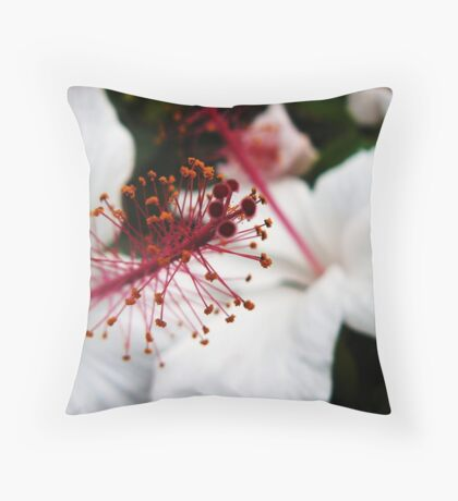 Habiscus Throw Pillow