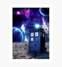 Doctor Who - Tardis  Art Print