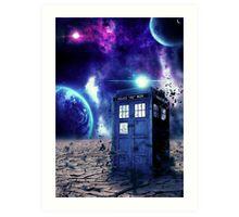Doctor Who - Tardis  Art Print
