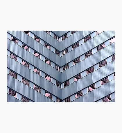 Glass and Steel Photographic Print