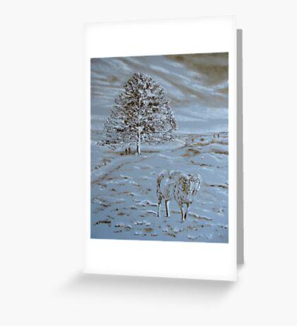Underpainting Aries Greeting Card