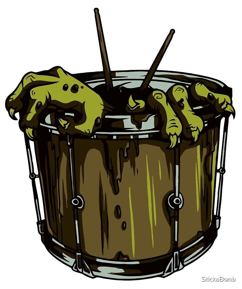 Zombie Drums by StickaBomb