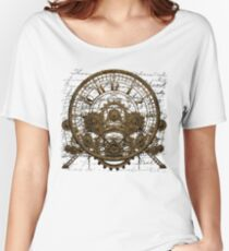 Vintage Steampunk Time Machine #1A Women's Relaxed Fit T-Shirt