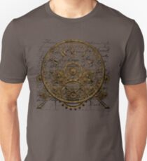Vintage Steampunk Time Machine #1A Unisex T-Shirt