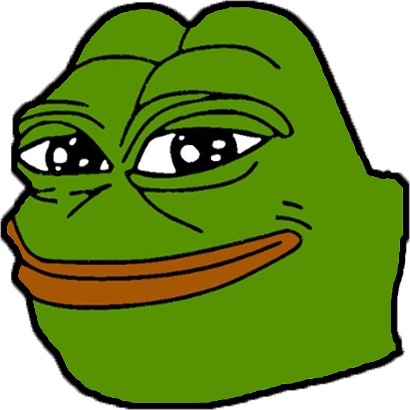 """""""Happy Pepe"""" Posters by GimmicsRipoff   Redbubble"""
