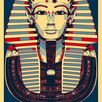 Tutankhamun 'King Tut' Hope Poster (Tut Tut) by SC001