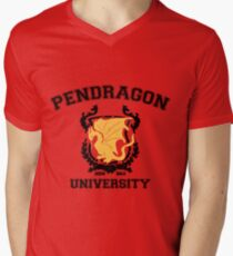 Pendragon University Men's V-Neck T-Shirt