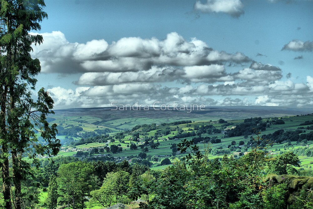 God's Own County - Nidderdale, Yorkshire  by Sandra Cockayne