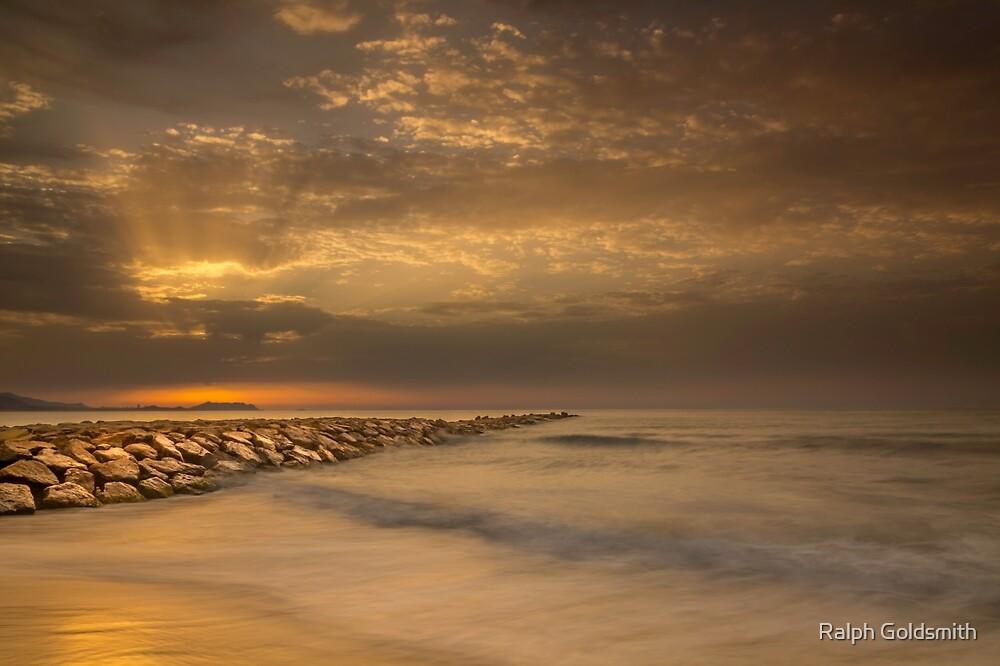 Sunrise at Carrer La Mar by Ralph Goldsmith