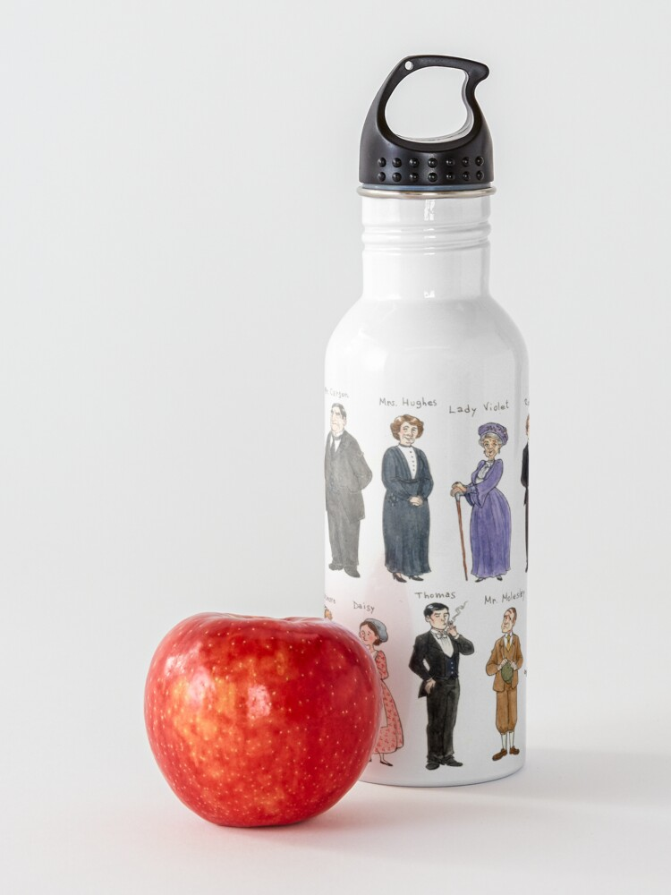 Alternate view of Downton A. Portraits Water Bottle