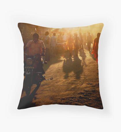 Dusty Light Throw Pillow
