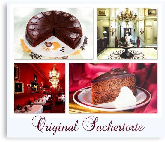 Original Sachertorte aus Wien by ©The Creative  Minds