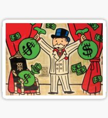 $ Monopoly Man x Scarface x Tony Montana $ Sticker