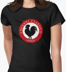 Black Rooster Italy Chianti Classico  Women's Fitted T-Shirt