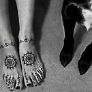 henna paws by Bruce  Dickson