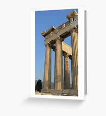 Parthenon. Greeting Card