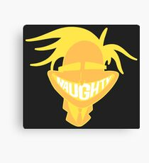 Freaky Fred 'Naughty' Smile Canvas Print