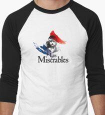 Les Miserables logo girl Baseball ¾ Sleeve T-Shirt