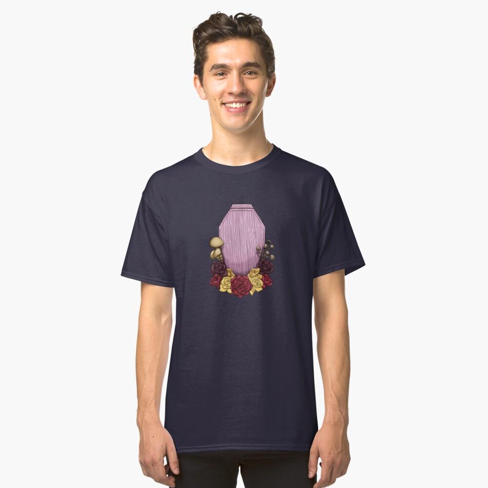 Powder Pink Coffin Classic T-Shirt