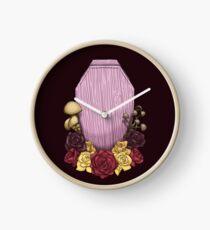Powder Pink Coffin Clock