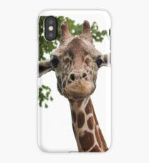 Giraffe Photo iPhone Case/Skin