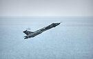 Vulcan over the Sea by Nigel Bangert