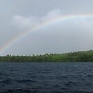 Rainbows at Tetepare by Reef Ecoimages